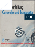 1991 VW T4 Owners Manual GermanWM