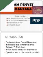 Ayam Penyet Nusantara