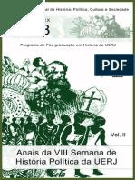 Anais 2013 Vol2 Semana de Historia Politica PPGH UERJ