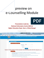 Presentation for ECounselling