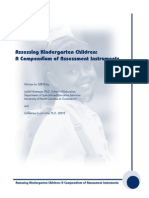 48985291 Assessing Kindergarten Children a Compenduim of Assessment Instruments