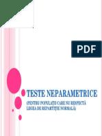 9.Teste Neparametrice