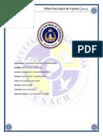 Informe de elctronica filtro 4 polos.docx