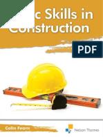 Basic Skills in Construction Full Book