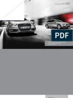 Audi A4, S4 and allroad (UK)