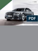 Audi A8 ans S8 (UK)