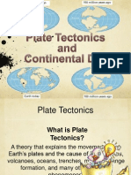 presentation plate tectonics and continental drift