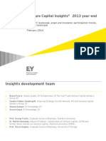 EY Venture Capital Insights 2013 Year End