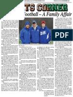 Rocky Hill Football - A Family Affair