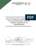 GUÍA DE PRODUCTOS OBSERVABLES 2013-1.docx