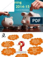 Tax Planning for a.Y. 2014-15