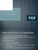 Firma electrónica y su legislación (terminado).pptx
