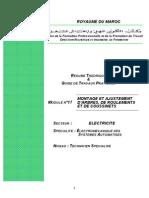 M17_Montage Et Ajustement d'Arbres_ de Roulements Et de Coussinets GE-ESA