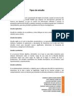 Tipos de Estudios, Investigacion.docx