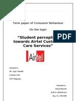 Final consumer Behaviour by ahmad