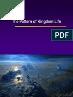 pattern of kingdom - demonstrate