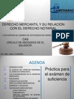 CAS DERECHO NOTARIAL  y su relación con el derecho mercantil 1a. pte. .ppt