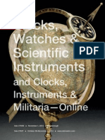 Clocks, Watches & Scientific Instruments | Skinner Auction 2760M