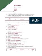 Comparative Forms in Italian