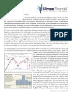 Ulman Financial Newsletter - October 3, 2014