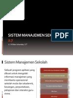 Sistem Manajemen Sekolah