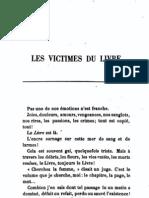 Vallès Jules - Les victimes du livre (Les réfractaires)