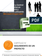 Capitulo IV – Seguimiento de un proyecto.pptx
