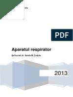 Aparatul Respirator - Suport de Curs