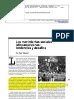 """Zibechi, R. """"Los movimientos sociales latinoamericanos tendencias y desafíos"""", Revista del OSAL, No. 9, ene. 2003, Buenos Aires CLACSO,p.185-188.pdf"""