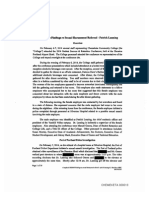 President's Investigation Report