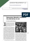 González Casanova, Pablo. Democracia, liberación y socialismo  tres alternativas en una. En OSAL  Observatorio Social de América Latina. No. 8 (sep. 2002- ). Bueno.pdf