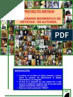 DICCIONARIO BIOGRAFICO DE ARTISTAS
