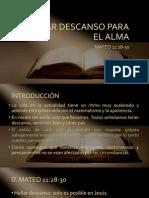 HALLAR DESCANSO PARA EL ALMA.pptx