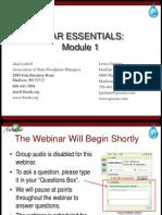 ASFPM LidarWebinar1 Overview
