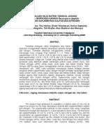 Evaluasi Nilai Nutrisi Tongkol Jagung