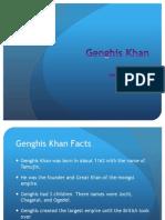 Ghenghis Khan