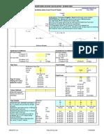 documents similar to utility pump station design spreadsheet