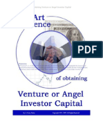 Venture The Art and Science of Obtaining Venture or Angel Investor CapitalCapital