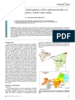 Hydrophytes of Five Ephemeral Lakes of Thiruvallur District.pdf