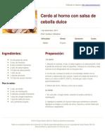 Sabores en Linea - Cerdo al horno con salsa de cebolla dulce - 2012-02-09.pdf