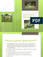 game sense approach powerpoint