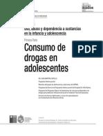 Uso y Abuso en Infancia y Adolescencia 1 Parte
