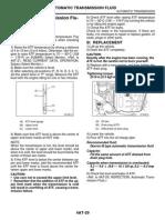 02. Automatic Transmission Fluid