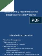 Metabolismo y recomendaciones dietéticas orales de Proteínas.pptx