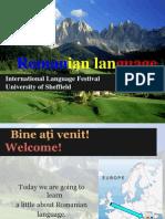 Romanian language.pptx