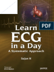 Sajjan M MBBS Learn ECG in a Day a Systemic Approach