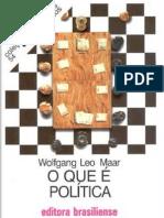 MAAR, Wolfang Leo. O que é política.pdf