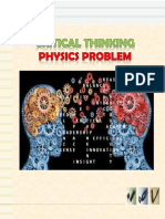 criticalthinkingphysicsproblems-140308223506-phpapp01
