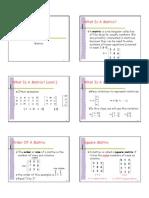 Topic 1 Matrix 1