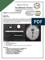 AJUSTE DE VALVULAS - C175.pdf